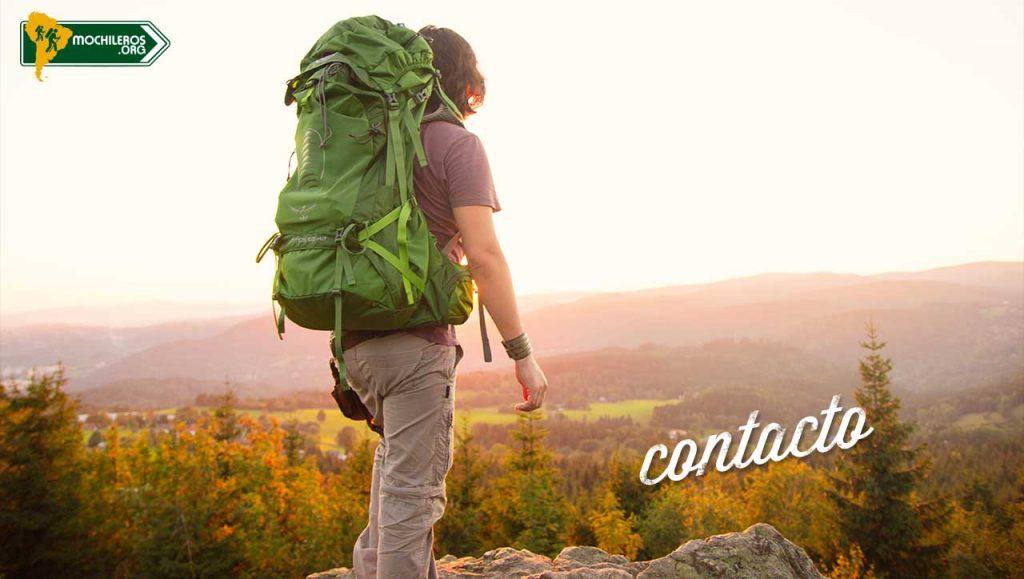 Contacto - Mochileros.org