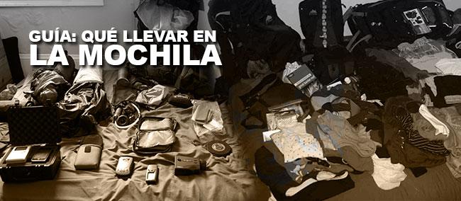 Qué llevar en la mochila - mochileros.org