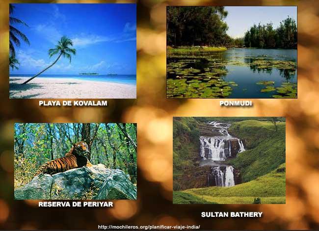 destinos en kerala ponmudia, sultan bathery