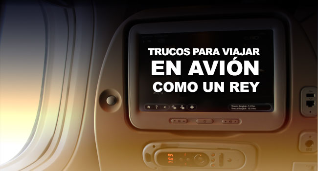 Photo of 5 trucos para viajar en avión como un rey