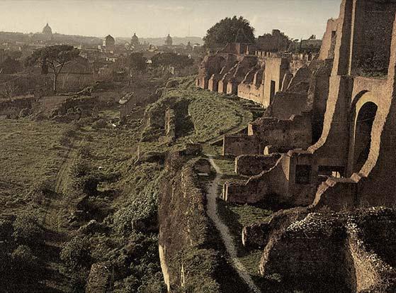 el Palatino de Roma