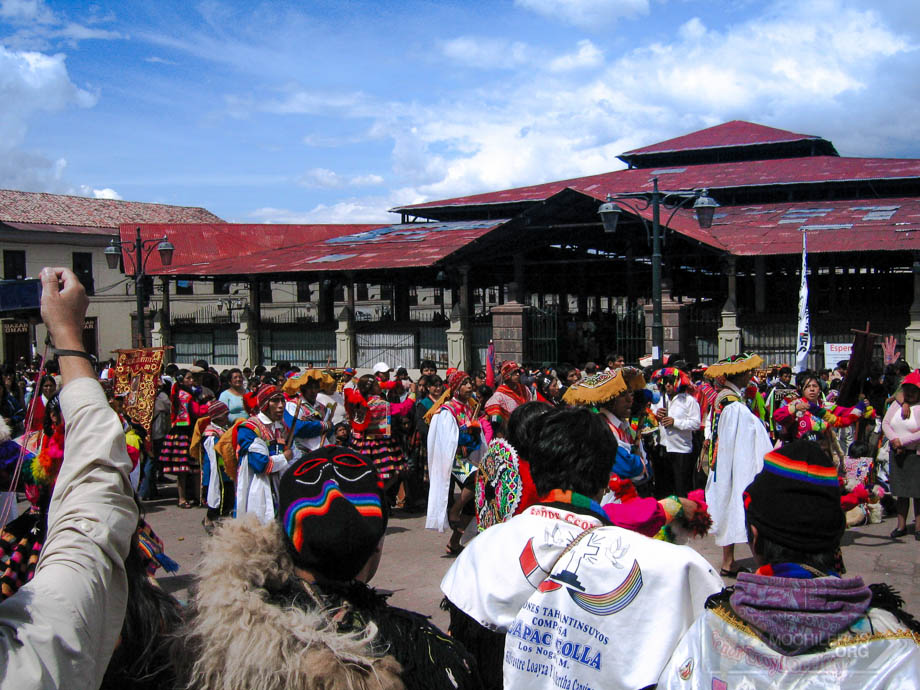 Mercado de San Pedro Cusco Peru