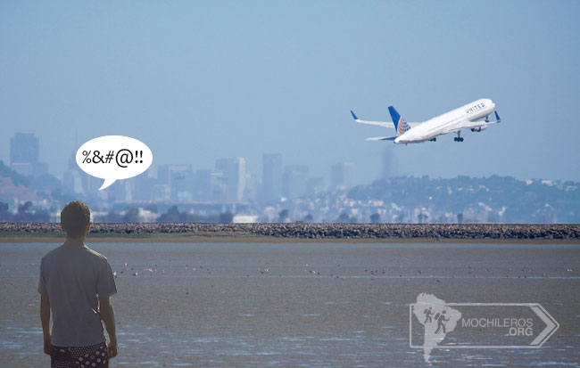 perdida de vuelos