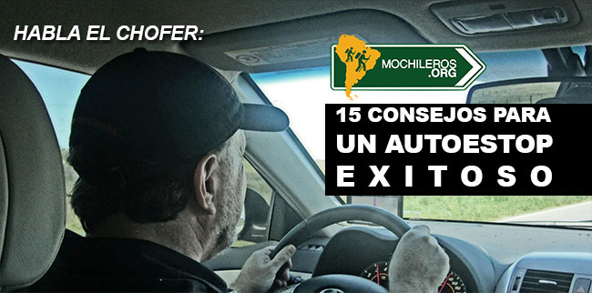 Photo of 15 Consejos para un autoestop exitoso: Habla el chofer.