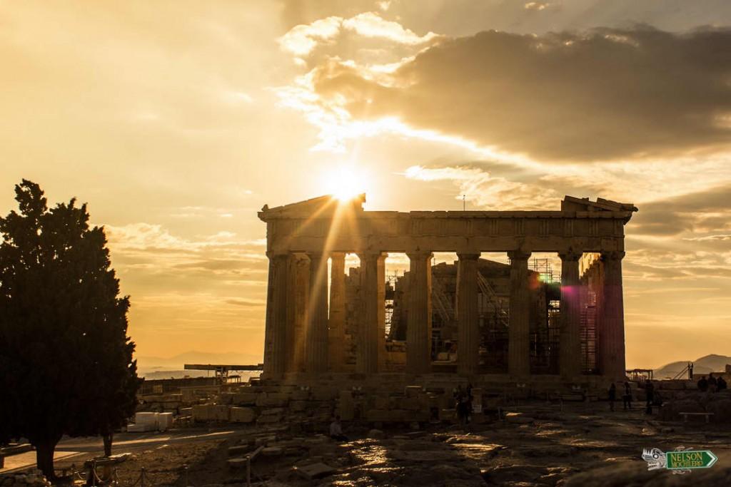 El Partenón de Atenas - Grecia