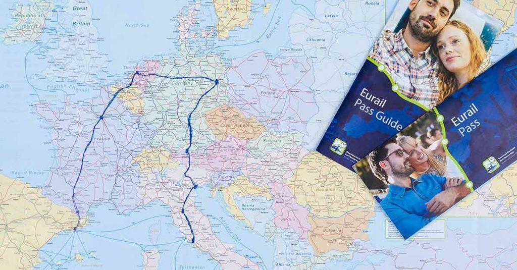 Elije tu ruta de viaje por Europa