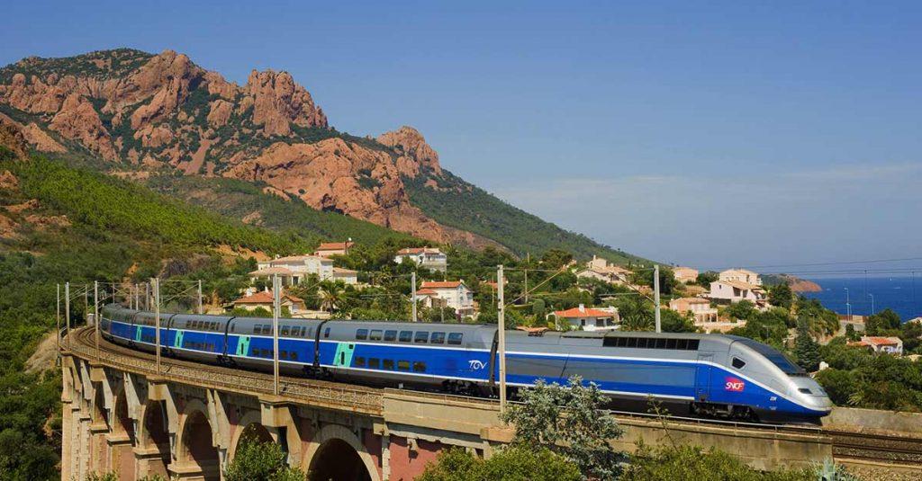 viajes a Europa en tren