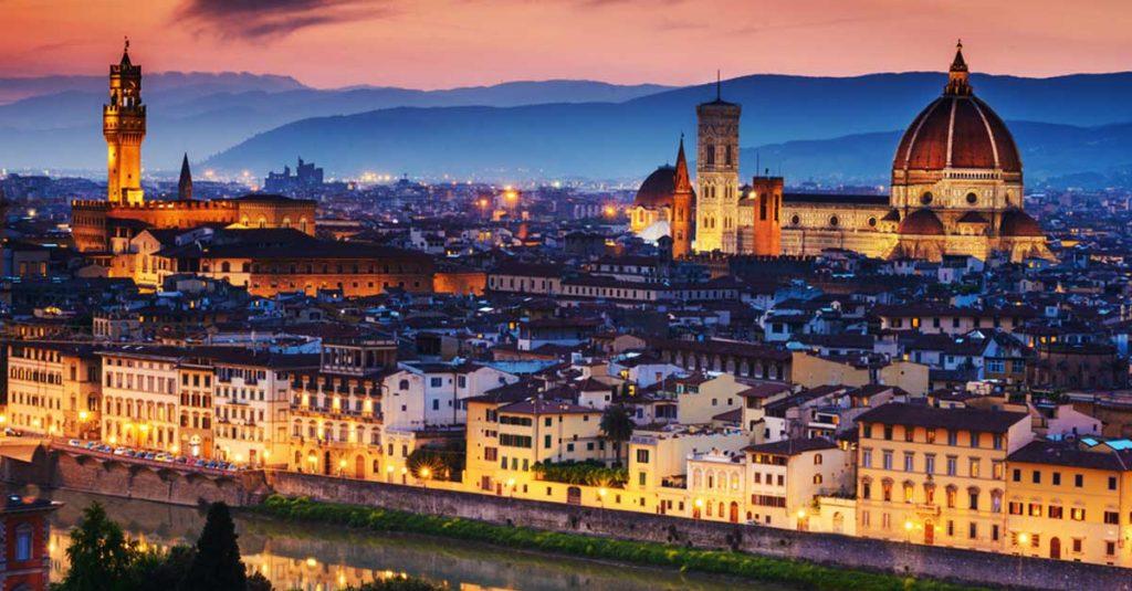 Florencia, Italia - viajar en tren por Europa