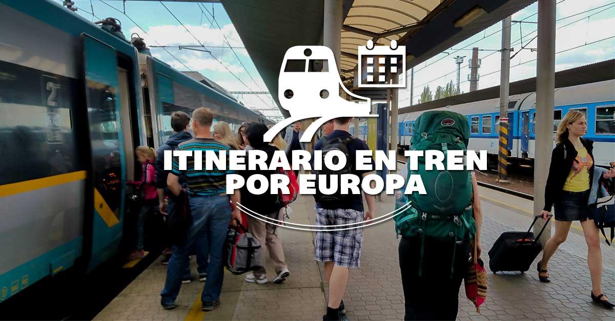 Photo of Itinerario para viajar en tren por Europa