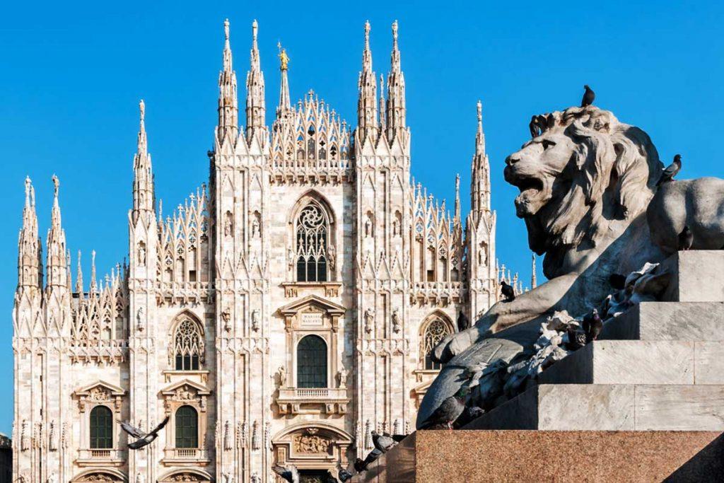 Milán, Italia - viajar en tren por Europa