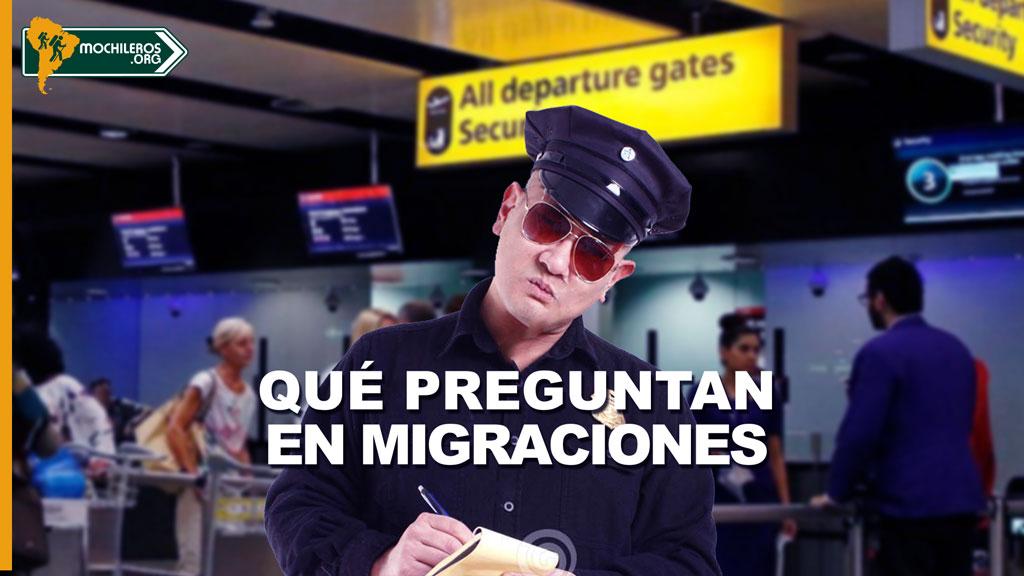 Photo of Estas son las preguntas típicas que te harán en migraciones.