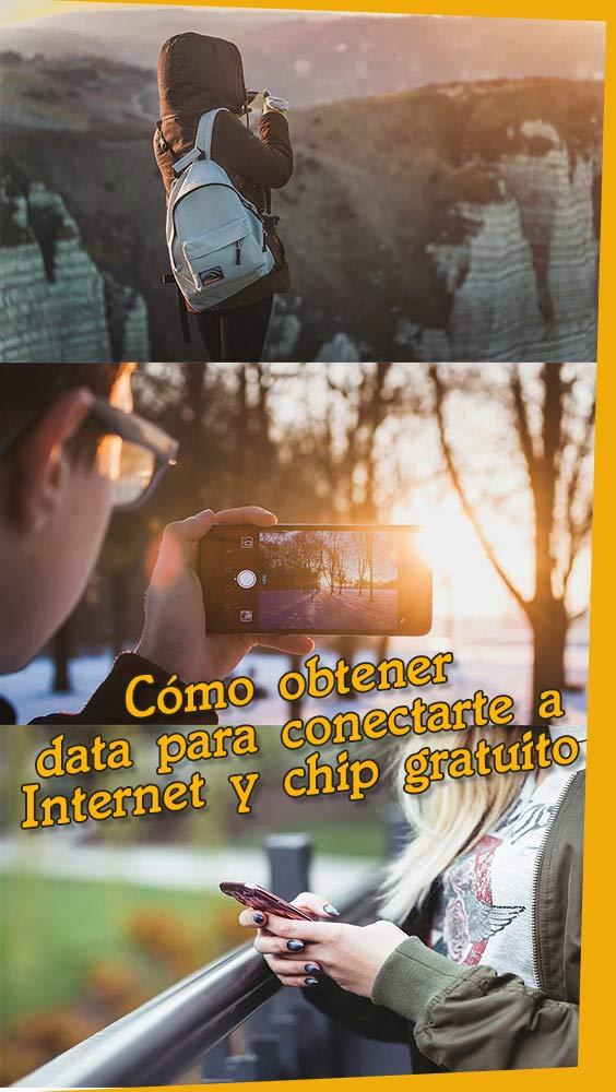 Data para #internet y un #chip #simcard gratis para tus #viajes