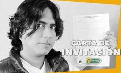Carta de Invitación