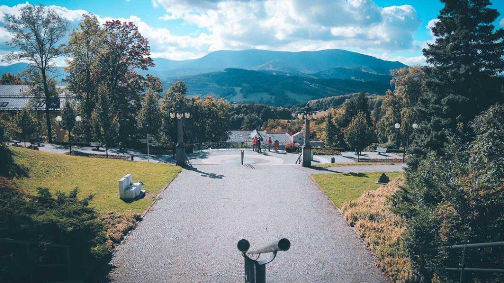 Turismo de salud en Priessnitz. República Checa - vista frontal