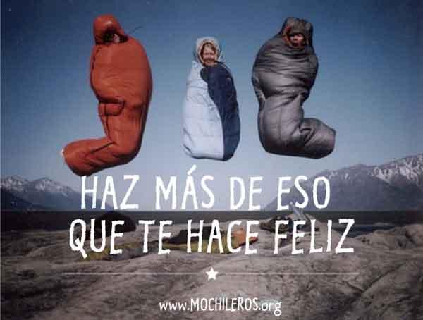 frases motivadoras para viajeros soñadores - haz mas de eso qeu te hace feliz - mochileros.org
