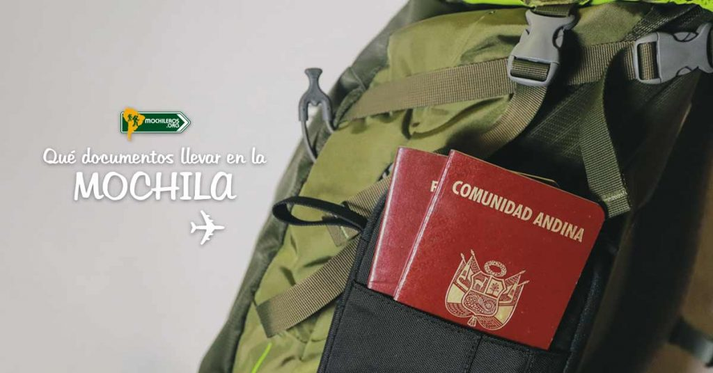 Qué documentos de viaje llevar en la mochila - Mochileros.org