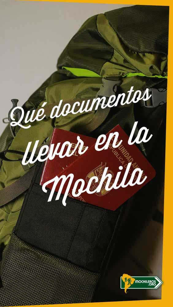 Los Documentos de viaje que no debes olvidar en la mochila o equipaje. Lista de documentos de viaje que debe ir contigo en todos tus viajes - Mochileros.org