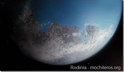 Rodinia - Hace un millon de años atrás