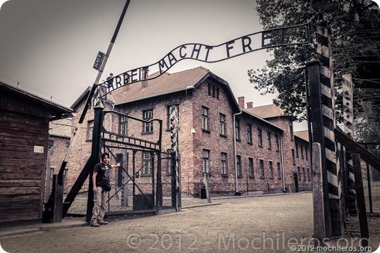 arbei macht frei - Auschwitz