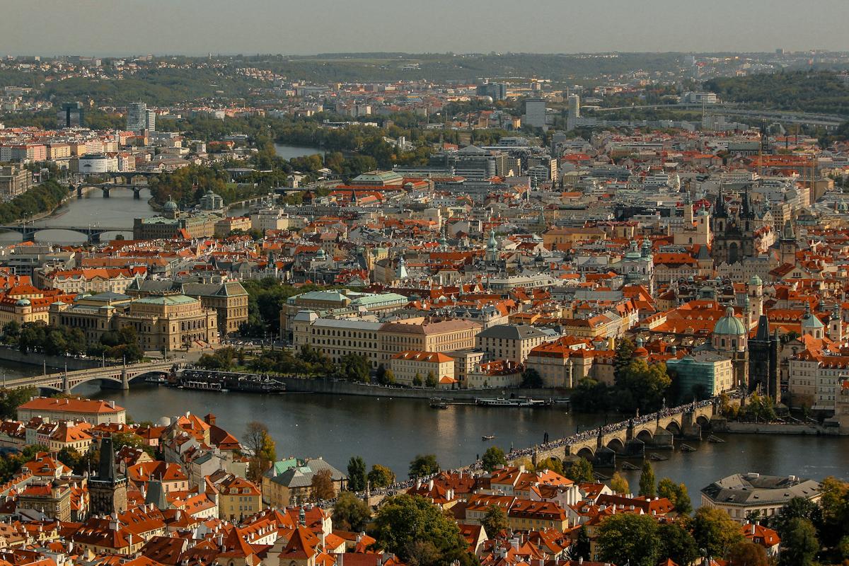 Praga desde el mirador
