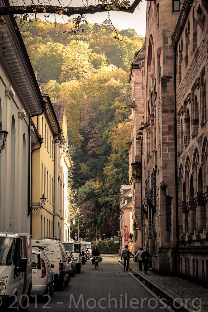 calles de freiburg alemania