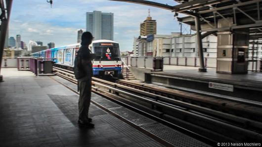 skytrain tailandia bangkok