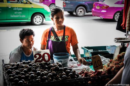 frutas en Tailandia