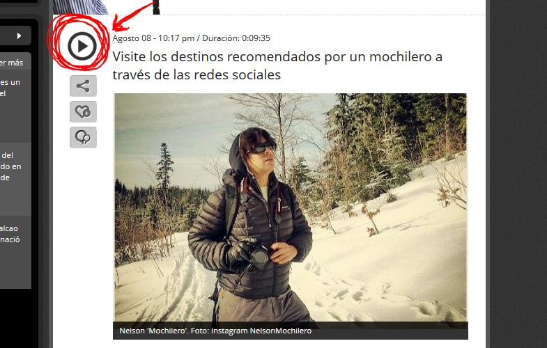 entrevista mochileros colombia