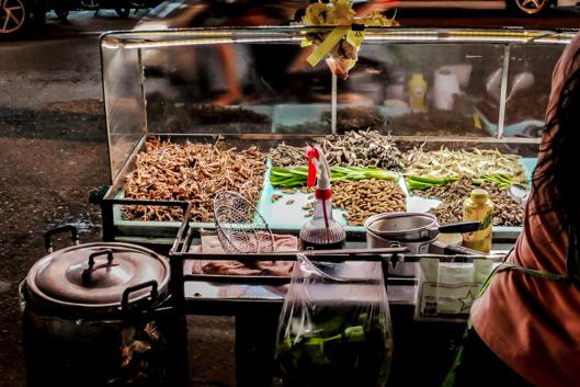 Insectos Comestibles Tailandia