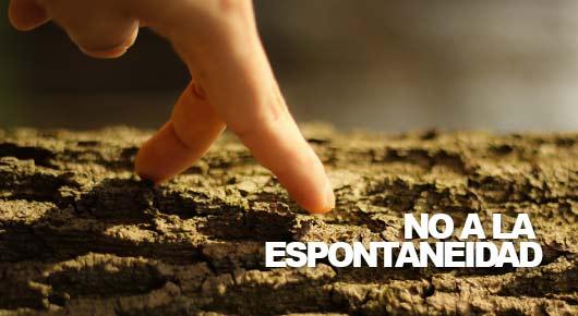 Photo of No a la espontaneidad