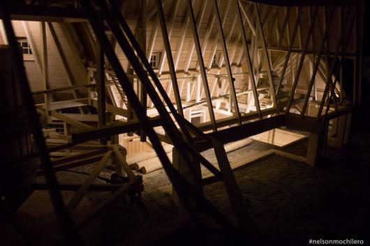 contrucciones de madera en las minas de cracovia