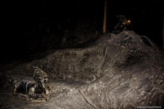 enanos en las minas de sal wieliczka