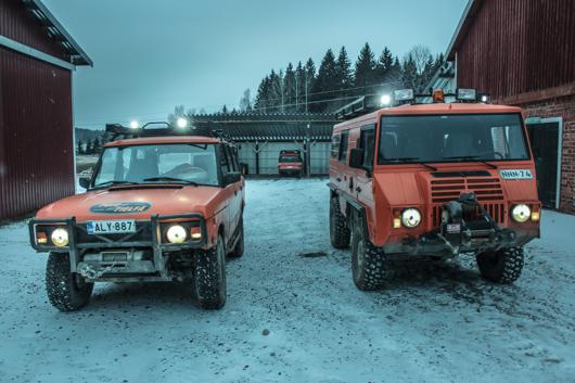 Lohja, Finland Off road 4x4