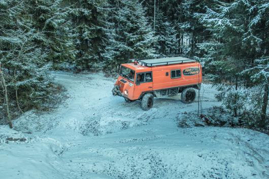 land rover, 4x4, off road safari en Finlandia con Nelsonmochilero