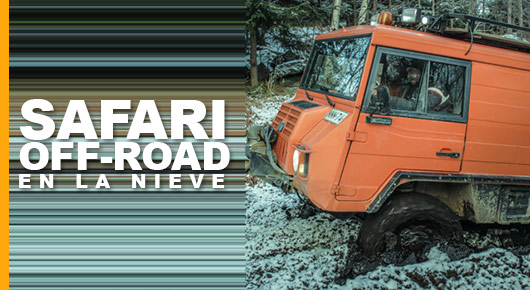 Photo of Atascado en Finlandia: Safari Off-Road en la nieve
