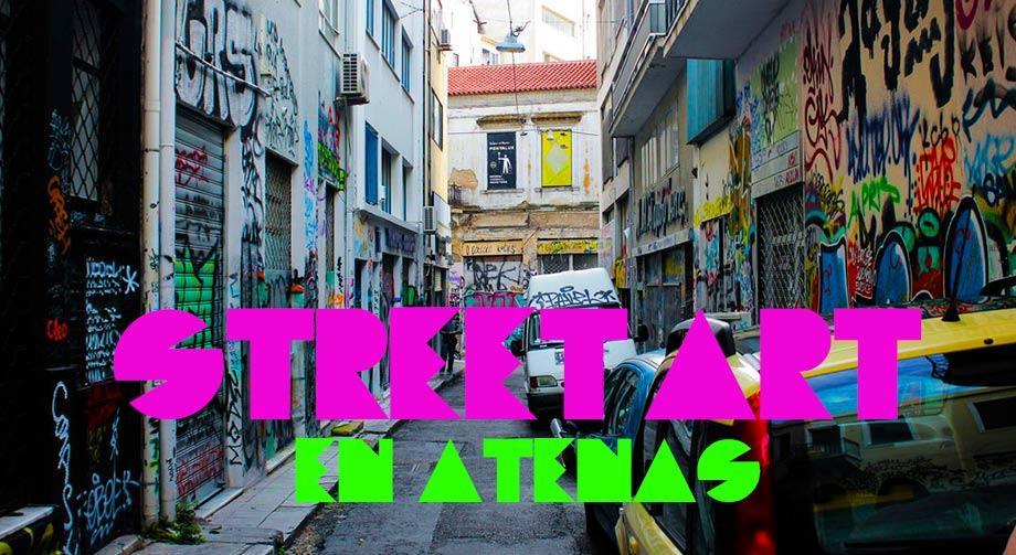 Street Art y Graffitti en Atenas Grecia