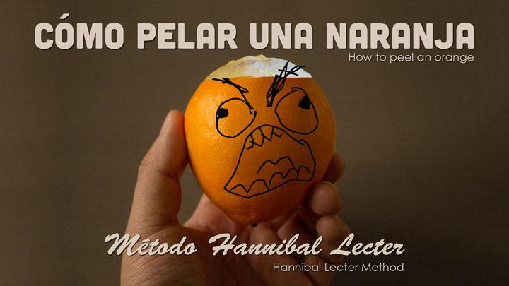 Photo of El método Hannibal Lecter para pelar una Naranja