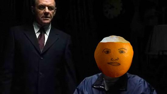 como pelar una naranja