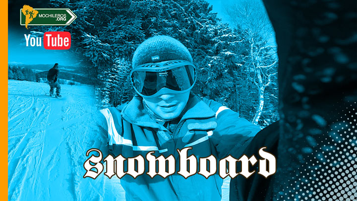Photo of Snowboard y esquí – Video Gopro: Paseo virtual en primera persona