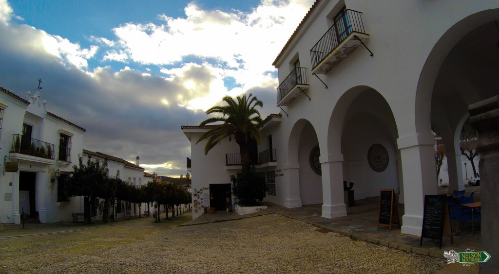 Las fotogénicas calles de Aracena, Huelva - España