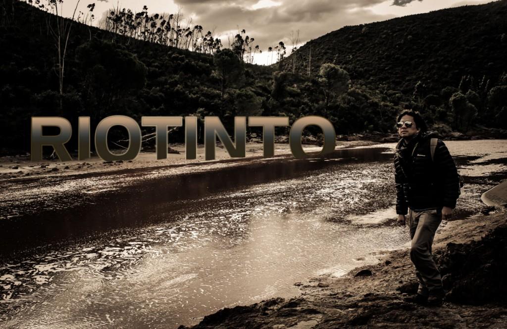 Minas de Riotinto y el Río Tinto en Huelva España