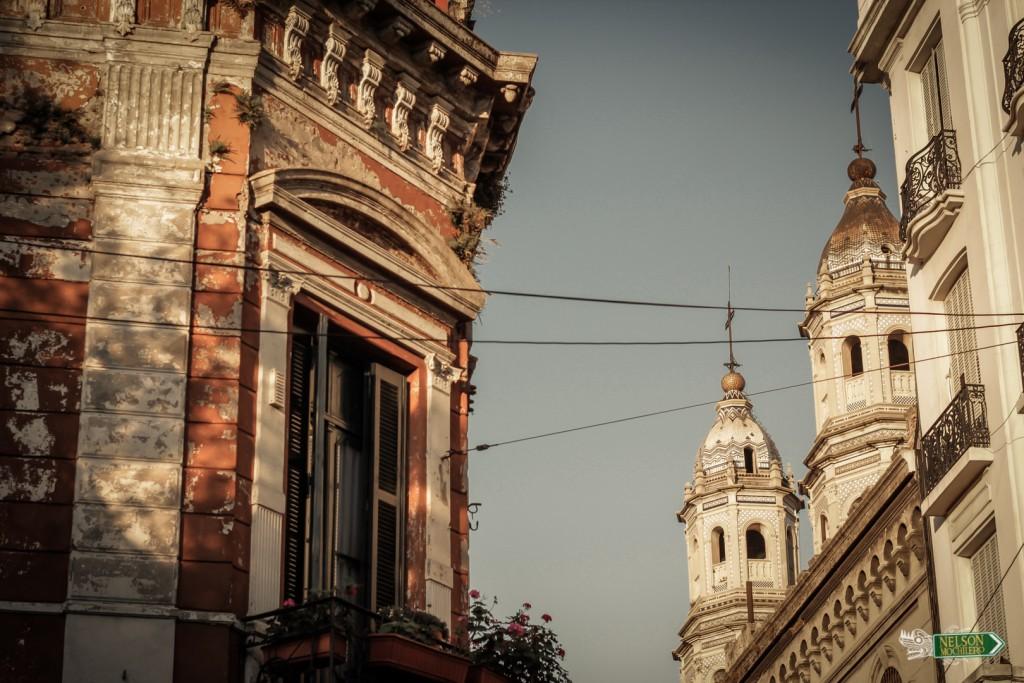 Barrio antiguo San Telmo buenos Aires