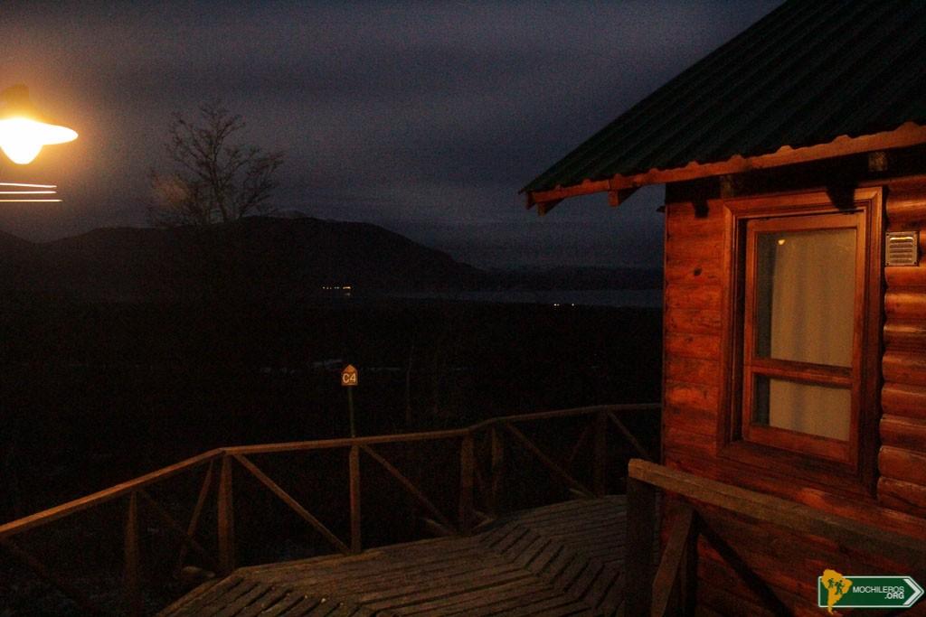 Cabañas del Fagnano noche