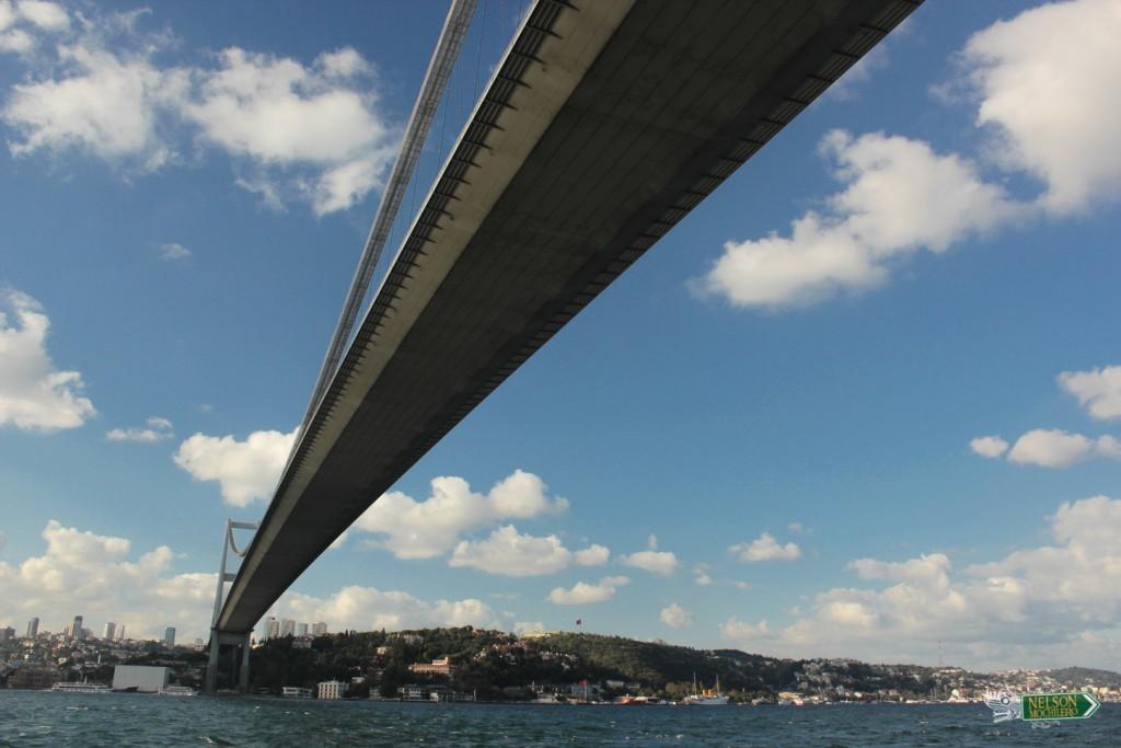 Puente en Turquia entre Asia y Europa: Estambul - Turquía, Istanbul Turkey