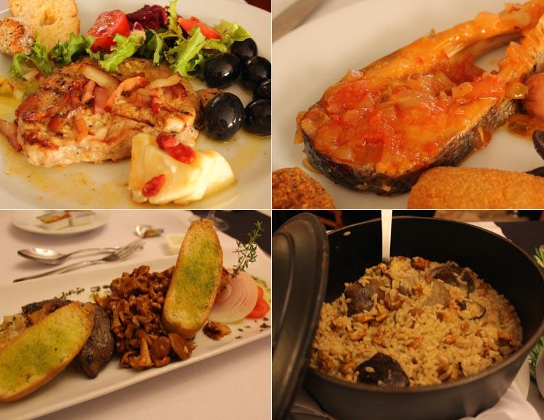 Comica, cocina Portugal, Hotel Minho