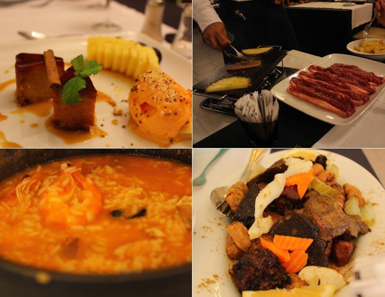 comida cocina Portugal Braseirao Do Minho