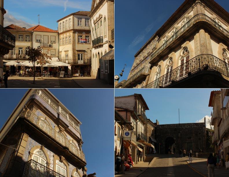 Fortaleza de Valença , calles al interior- Alto Minho, Portugal