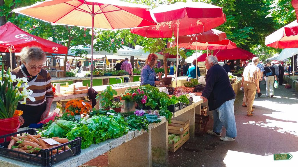 Green Market Pula - Península de Istria - Croacia