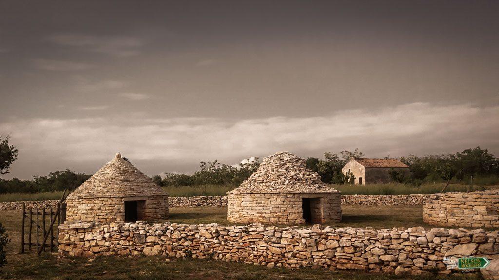 Kažun, antiguos refugios típicos del Mediterráneo