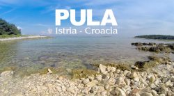 Pula, península de Istria, Croacia